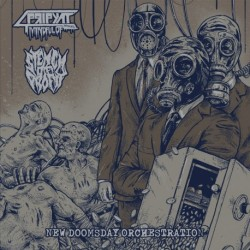 MINDFUL OF PRIPYAT/STENCH OF PROFIT - New Doomsday Orchestration - LP
