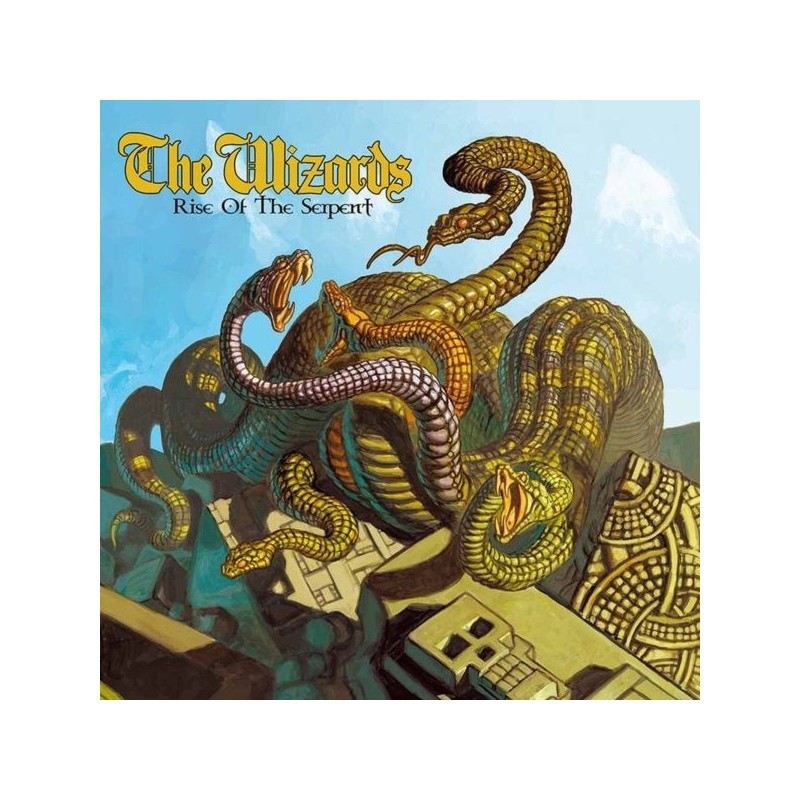 THE WIZARDS - Rise Of The Serpent - LP