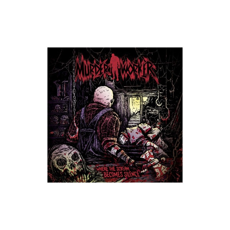 MURDER WORKER - Where the scream becomes silence - CD