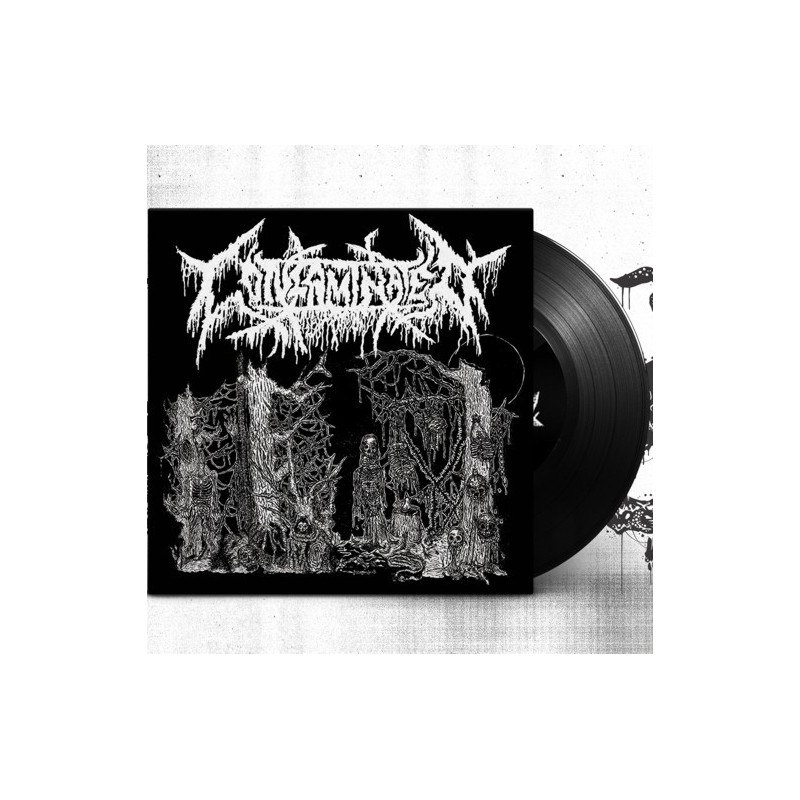 CONTAMINATED / KUTABARE - Death Sick / Funeral Erection - Split EP 7''