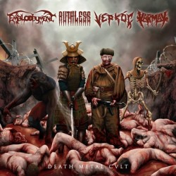 EMBLOODYMENT / RUTHLESS / VEPROÇ / KARMAK - Death Metal Cult - Split LP