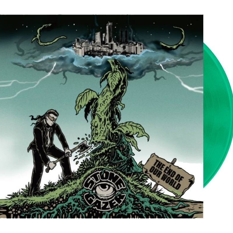 STONEGAZER - The End Of Our World - LP (transparent green)
