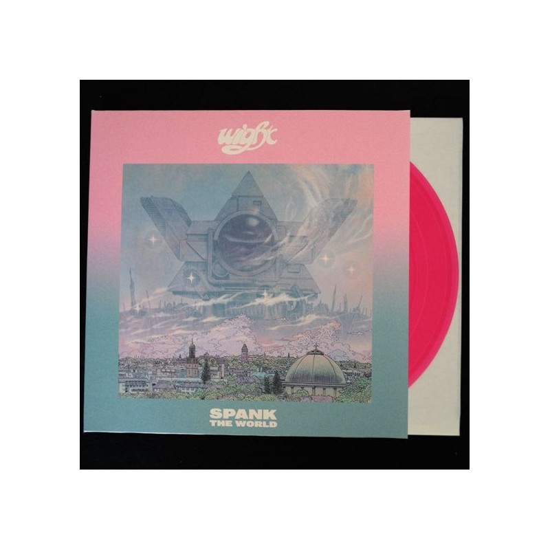 WIGHT - Spank The World - LP (transparent pink)