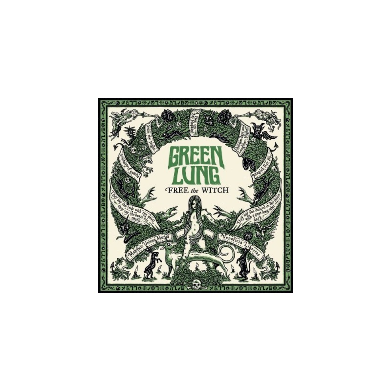 GREEN LUNG - Free The Witch - LP (Color)