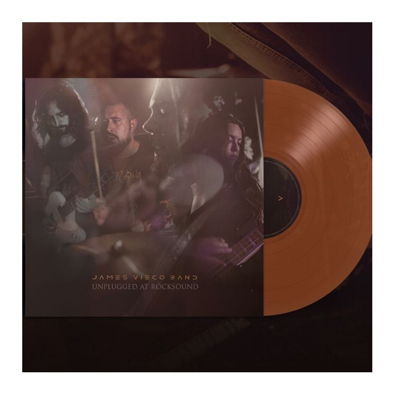 JAMES VIECO - Unplugged at Rocksound - LP Color.