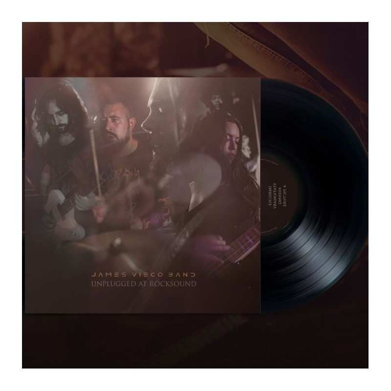 JAMES VIECO - Unplugged at Rocksound - LP Color