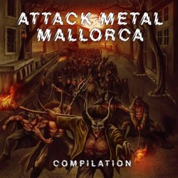 VARIOUS - Attack Metal Mallorca Compilation - 2xCD.