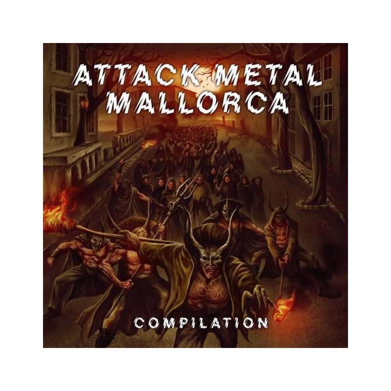 VARIOUS - Attack Metal Mallorca Compilation - 2xCD.