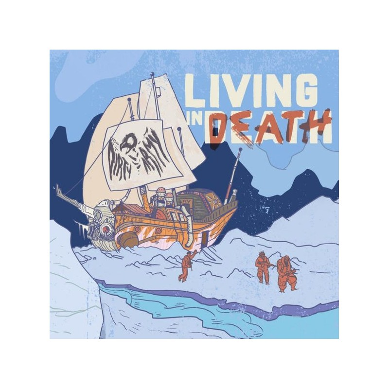 DIRTY ARMY - Living in Death - CD