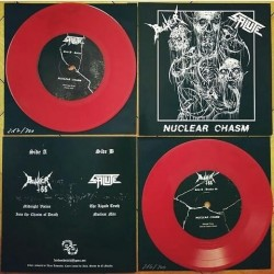BUNKER 66 / SALUTE - Nuclear Chasm - Split EP 7''.