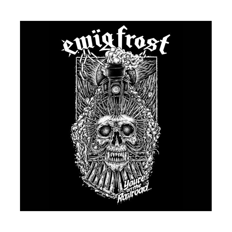"""EWÏG FROST - The Railroad to Hell EP - 7"""""""