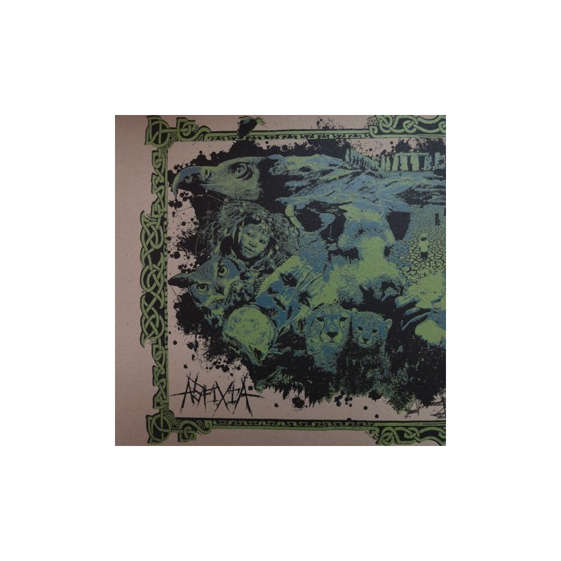 ASFIXIA / ANNUNAKI REVENGE - Split LP