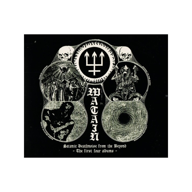 WATAIN - Satanic Deathnoise From The Beyond - The First Four Albums - 4CD BOX