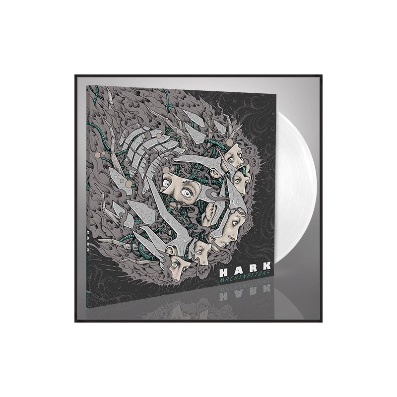 HARK - Machinations - LP (White)