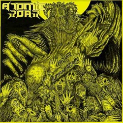 ATOMIC ROAR - Never Human Again - CD