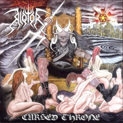 RIOTOR - Cursed Throne - CD