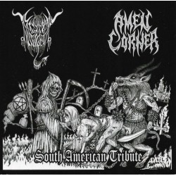 BLACK ANGEL / AMEN CORNER – Split CD