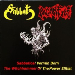 SABBAT / PAGANFIRE - Sabbatical Vermin Born – The Witchhammer of the Power Elitist - CD
